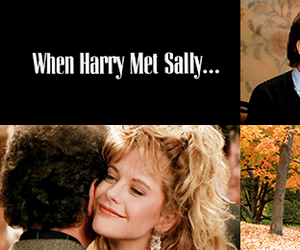 Meg Ryan, when harry met sally, and romantic comedy image