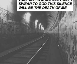 grunge, hurt, and quote image