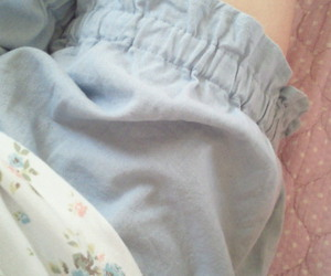 blue, pale, and shorts image
