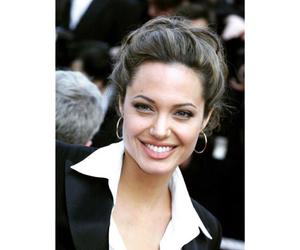 Angelina Jolie, beautiful, and black image