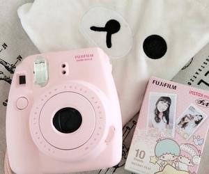 pink, kawaii, and camera image
