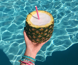 drink, FRUiTS, and pool image
