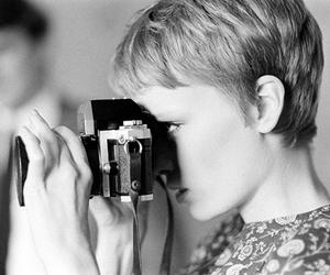 camera, Mia Farrow, and photography image