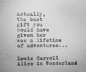 adventure, dialogue, and Lewis Carroll image