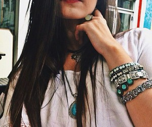 accessories, girl, and hairstyle image