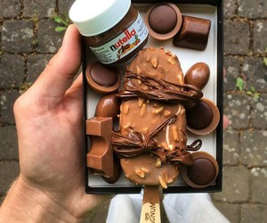 chocolate, delicious, and Magnum image
