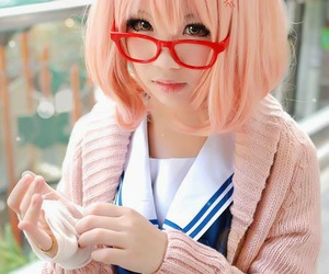 cosplay and kyoukai no kanata image