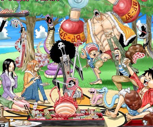 anime, one piece, and monkey d luffy image