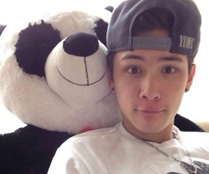 carter reynolds, panda, and magcon image