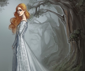 art, game of thrones, and sansa stark image