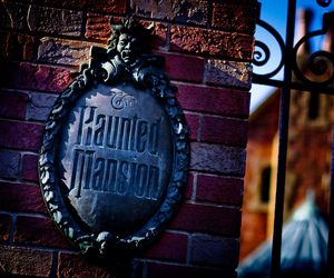 haunted mansion and magic kingdom image