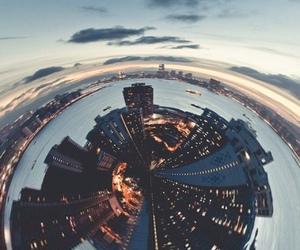 city, lights, and beautiful image