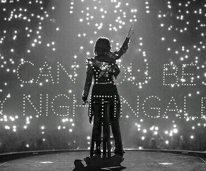 demi lovato, nightingale, and concert image