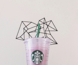 starbucks, strawberry, and tumblr image