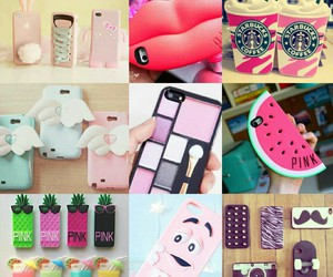 cases, Collage, and iphone image