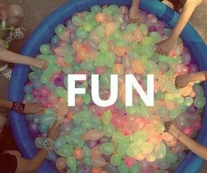 balloon, colors, and fun image