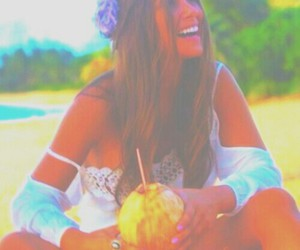 coconut, pastel, and summer image