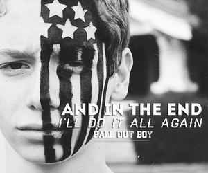 fall out boy, FOB, and Lyrics image