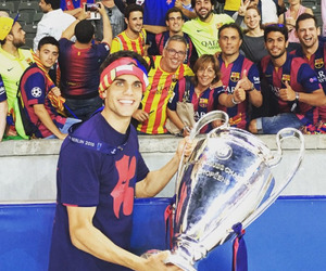 marc bartra and fc barcelona image