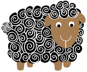 black and sheep image