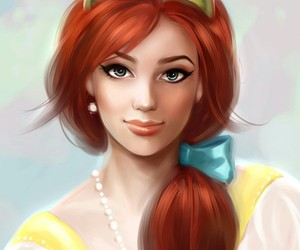 anastasia, princess, and disney image