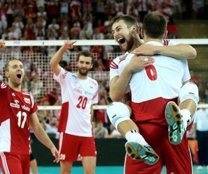 Poland, world league, and volleyball image
