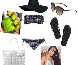 Polyvore, shades, and summer outfit image