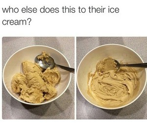 ice cream, funny, and lol image