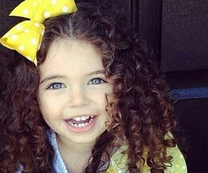 girl, cute, and curly image