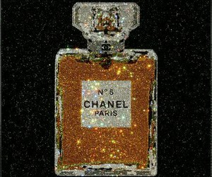 background, glitter, and perfume image