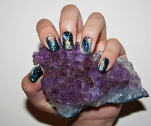 nails, piedra, and style image