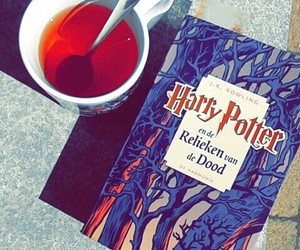 books, harry potter, and sun image