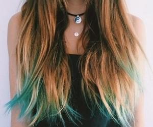 black, blue, and grunge image
