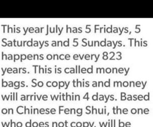 money, repost, and july image
