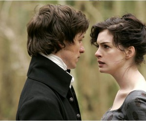 becoming jane, Anne Hathaway, and jane austen image
