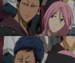 satsuki, kuroko no basket, and aomine image