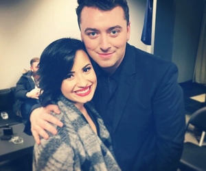 sam smith, demi lovato, and demi image