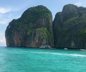 beach, Phi Phi, and phuket image
