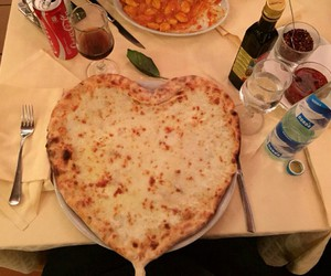 food, heart, and herz image