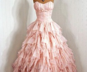 dress and pink image
