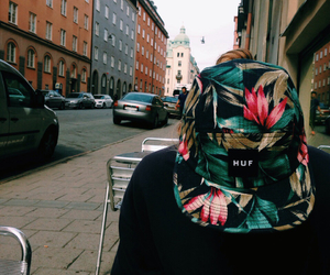 huf and style image