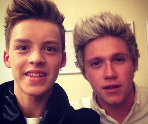 niall horan, one direction, and reece bibby image