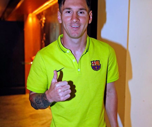 Barcelona and messi image