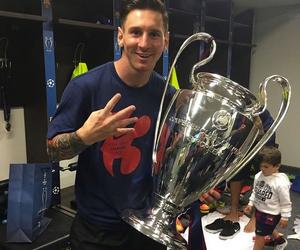 messi, champion, and fc barcelona image