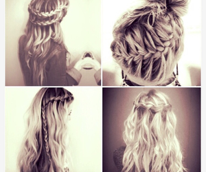 braids, hairstyles, and pretty image
