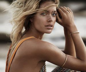 model, Doutzen Kroes, and blonde image
