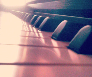 life, piano, and love image