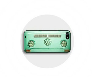 car, hippie, and mint green image