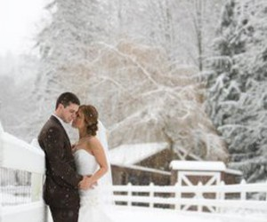 winter wedding pretty image