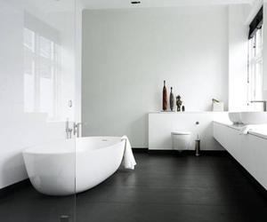 bathroom and bathtub image